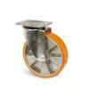 Roulette à platine – 400 à 1000 kg - à platine pivotante, 50, 400, 100, 142, 55, 135x110, 11, à billes, 105x80