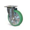 Roulette à platine – 400 à 750 kg - à platine pivotante, 50, 400, 125, 164, 55, 135x110, 11, à billes, 105x80