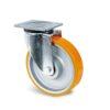 Roulette à platine – 500 à 800 kg - à platine pivotante, 50, 500, 125, 164, 55, 135x110, 11, à billes, 105x80