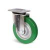 Roulette à platine – 350 à 750 kg - à platine pivotante, 38, 350, 125, 164, 55, 135x110, 11, à billes, 105x80