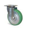 Roulette à platine – 550 à 750 kg - à platine pivotante, 50, 550, 160, 199, 55, 135x110, 11, à billes, 105x80