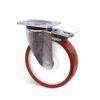 Roulette à platine – 500 à 750 kg - à platine pivotante à double blocage, 45, 500, 125, 164, 55, 135x110, 11, à billes, 105x80