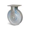Roulette à platine – 450 à 600 kg - à platine fixe, 40, 600, 125, 165, 138x110, 11, à billes, 105x80