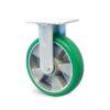 Roulette à platine – 350 à 600 kg - à platine fixe, 50, 550, 160, 195, Roulette à platine acier, 138x110, 11, à billes, 105x80