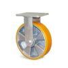 Roulette à platine – 400 à 600 kg - à platine fixe, 50, 400, 100, 143, Roulette à platine acier, 138x110, 11, à billes, 105x80