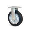 Roulette à platine – 200 à 400 kg - à platine fixe, 50, 200, 125, 165, -, 138x110, 11, à billes, 105x80