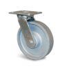 Roulette à platine – 450 à 600 kg - à platine pivotante, 40, 600, 150, 190, 40, 138x110, 11, à billes, 105x80