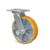 Roulette à platine – 400 à 600 kg - à platine pivotante, 50, 450, 125, 165, 40, 138x110, 11, à billes, 105x80