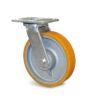 Roulette à platine – 400 à 600 kg - à platine pivotante, 50, 400, 100, 143, 35, 138x110, 11, à billes, 105x80