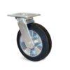 Roulette à platine – 270 à 550 kg - à platine pivotante, 50, 270, 125, 165, 40, 138x110, 11, à billes, 105x80