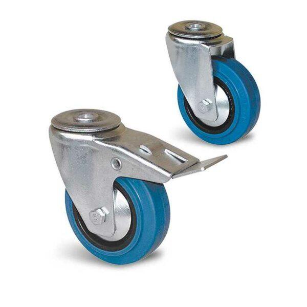 Roulette à trou central – De 80 à 125 kg