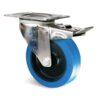 Roulette à platine – 150 à 300 kg - à platine pivotante à double blocage, 48, 300, 200, 240, 48, 129x106, 11, 105x80, à rouleaux