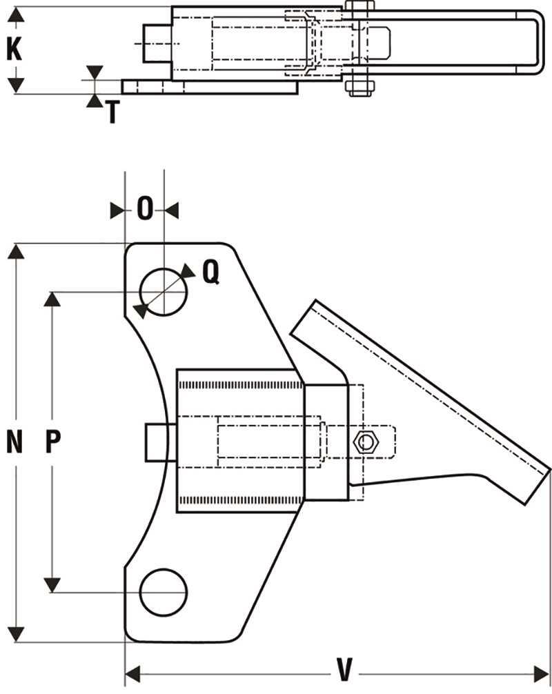 Schema blocage directionnel pour roulette
