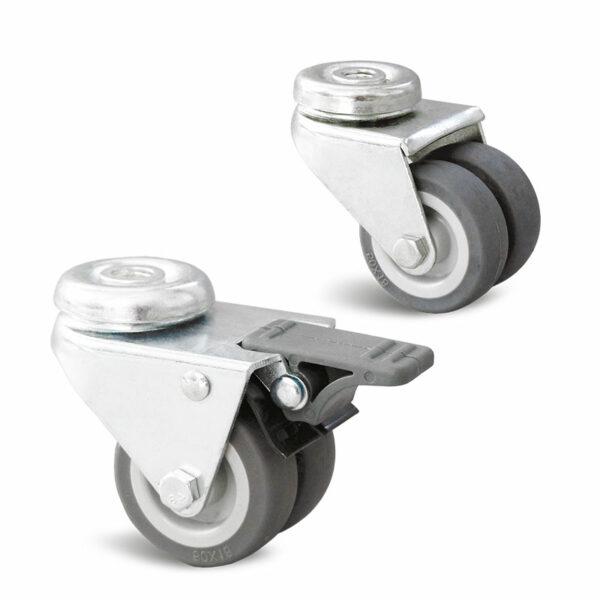 Roulette à trou central – 60 à 75 kg