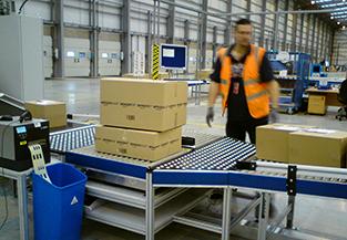 Bille de manutention pour logistique