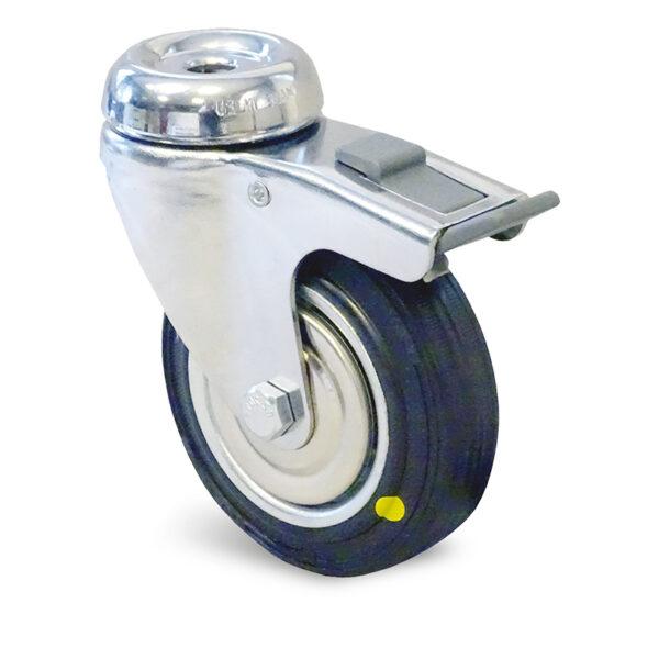 Roulette à trou central – 60 à 70 kg