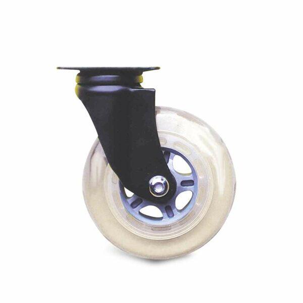 Roulette à platine – Design PL Noir