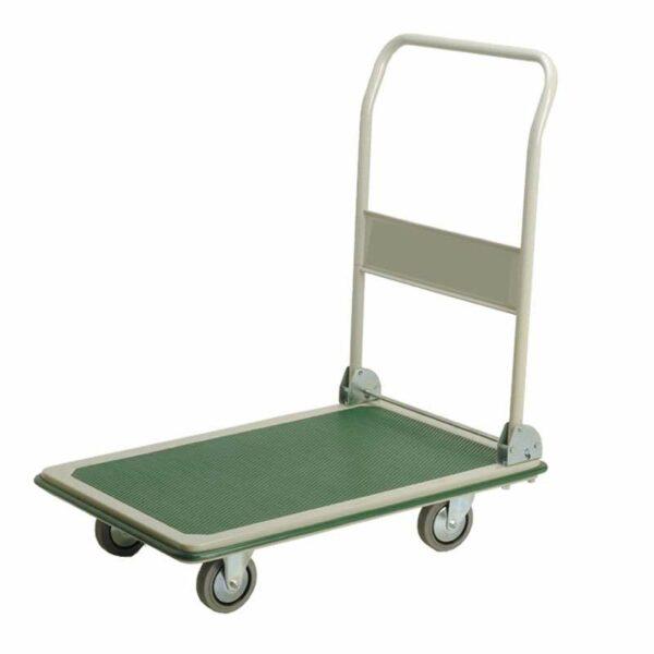Chariot en tôle emboutie Long plateau - Charge 300 kg