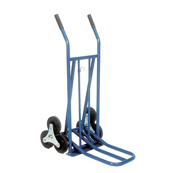 Diable acier 3 roues franchissement bordures - Charge 250 kg