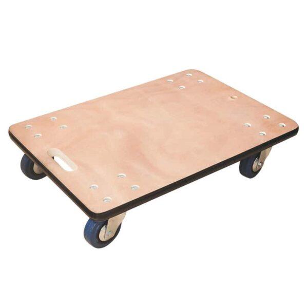 Plateau roulant bois - Charge 450 kg