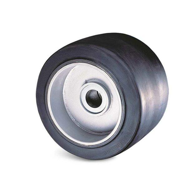 Roue caoutchouc élastique - 830 à 8900 kg