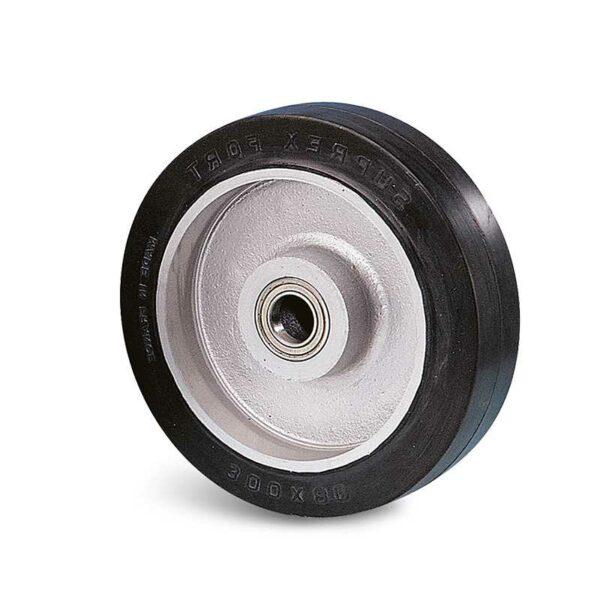 Roue caoutchouc élastique - 750 à 2300 kg