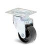 Roulette à platine – Mini Forte PL - 20, 45, 30, 50, 15, 39x39, 29x29, lisse, Polyamide