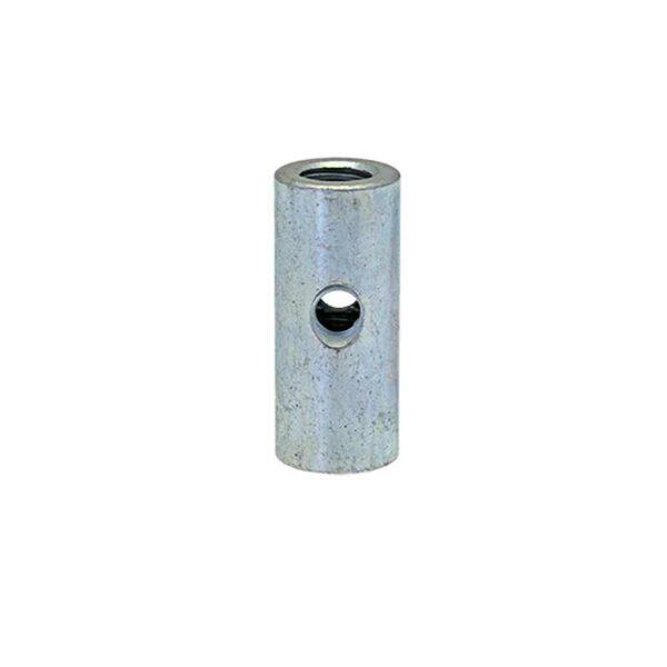 Fixations acier pour tubes ronds