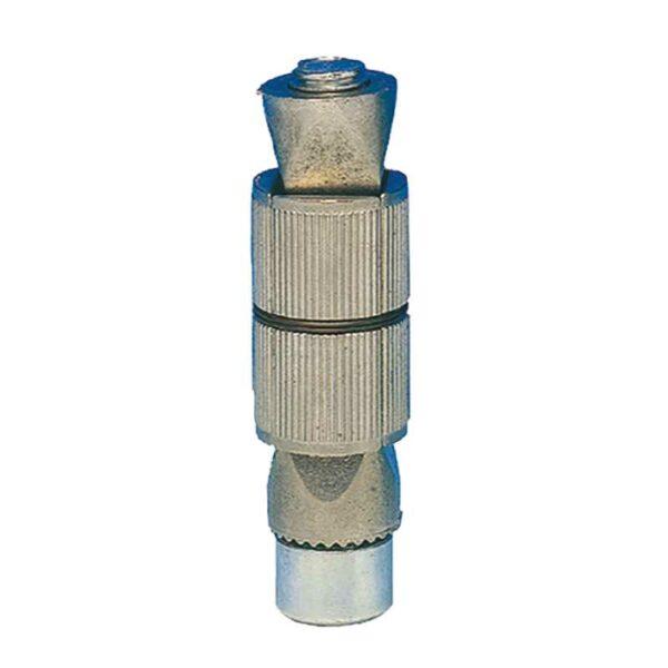 Fixations métal pour tubes ronds