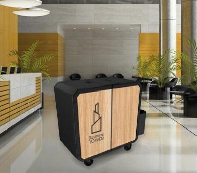 Chariot de nettoyage hotels