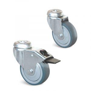 Roulette à trou central – 40 à 90 kg