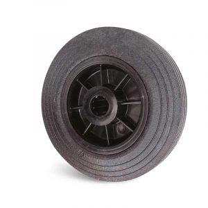 Roue caoutchouc – 80 à 250kg