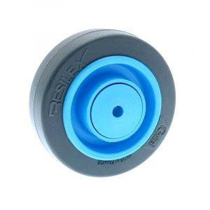 Roue caoutchouc super élastique Résilex® - 200 à 400 kg