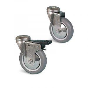 Roulette à trou central – 60 à 80 kg
